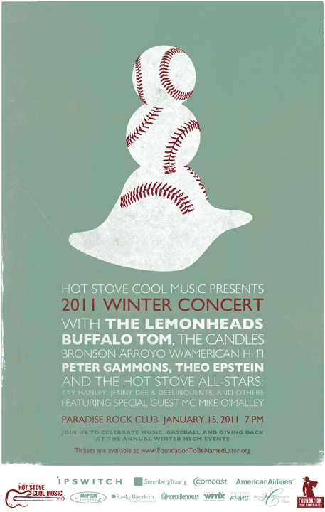 Hot Stove Cool Music Winter 2011 poster
